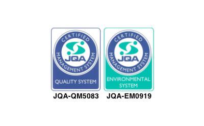 ISO 9001 / 14001 の取得
